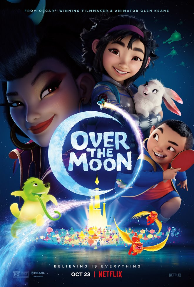 Over the Moon (Netflix) Large Poster