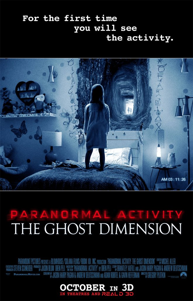 Paranormal Activity: The Ghost Dimension Large Poster