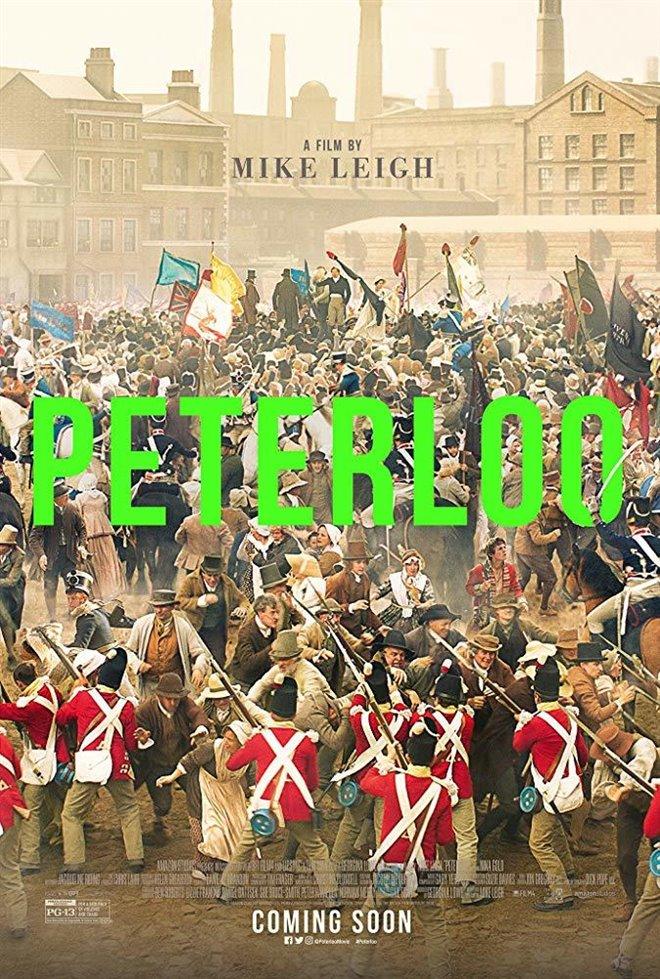 Peterloo (v.o.a.) Large Poster