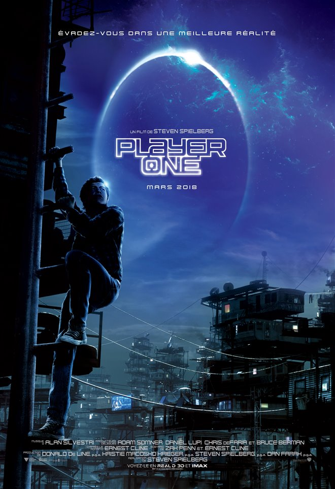 Player One Large Poster