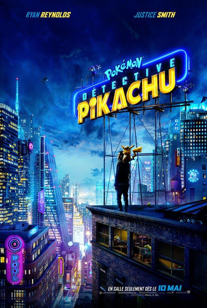 Pokémon Détective Pikachu Large Poster