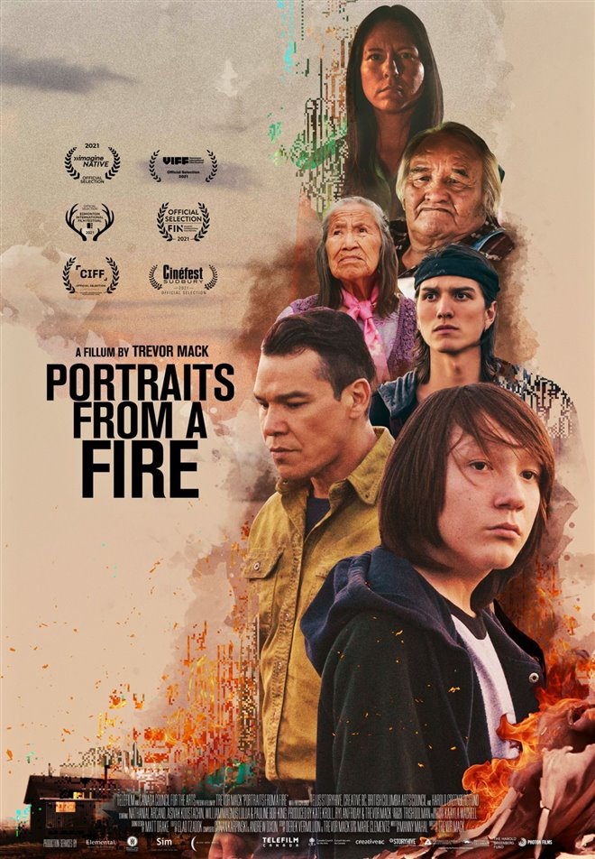 Portraits from a Fire Large Poster