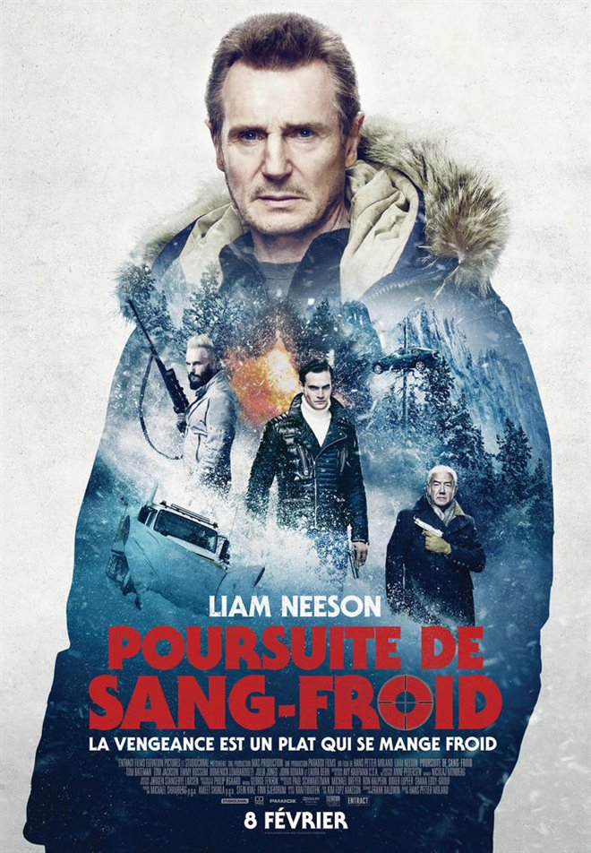Poursuite de sang-froid Large Poster