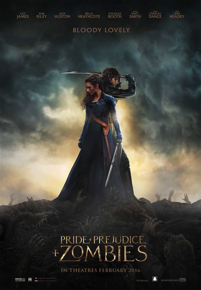 Pride and Prejudice and Zombies Large Poster