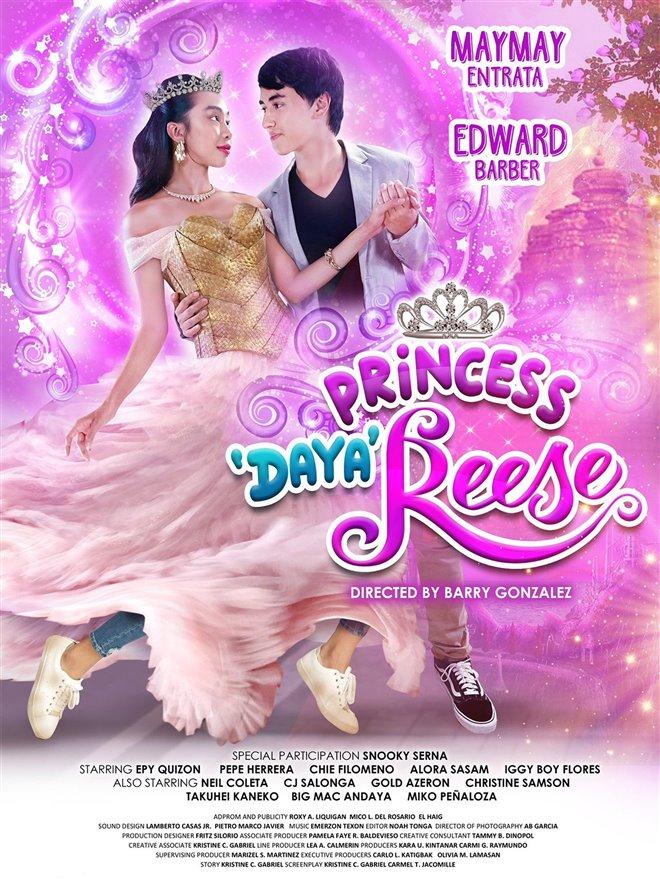 Princess Dayareese Large Poster