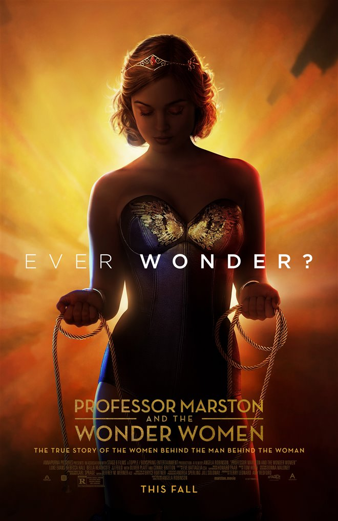 Professor Marston & the Wonder Women Large Poster
