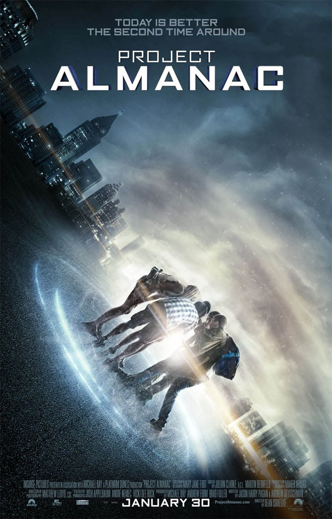 Project Almanac Large Poster