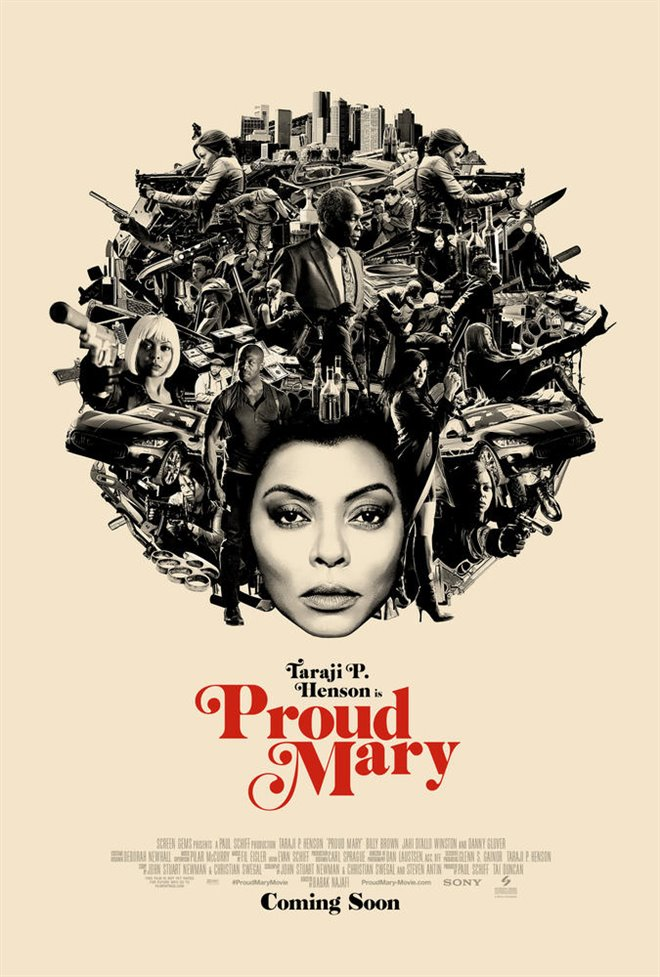 Proud Mary (v.o.a.) Large Poster