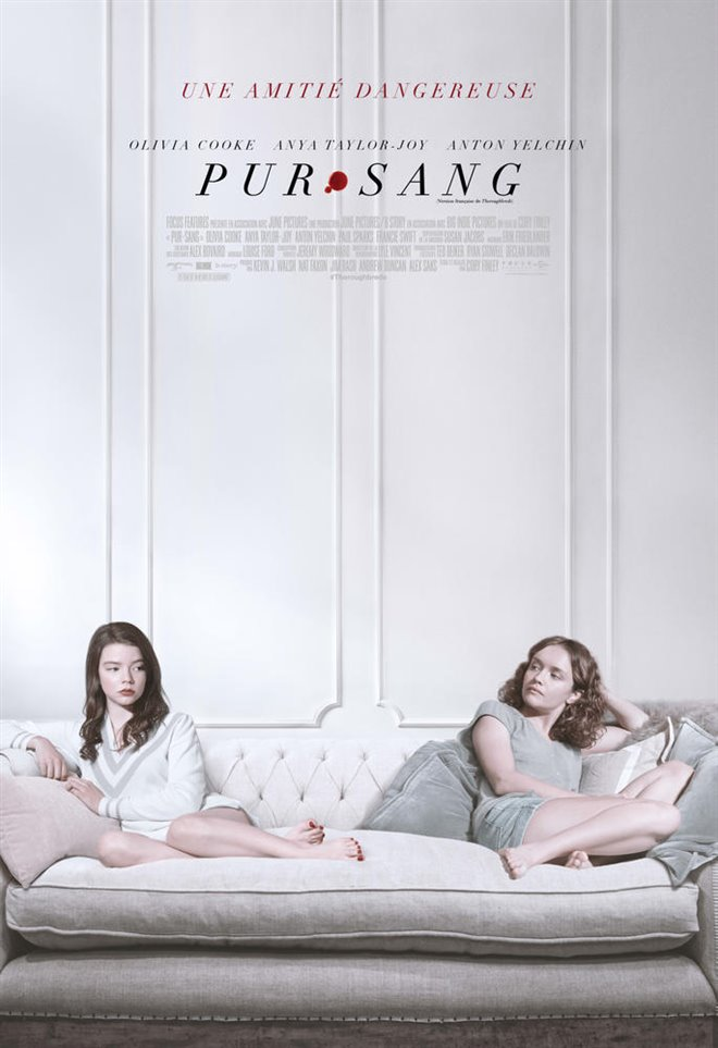 Pur-sang Large Poster