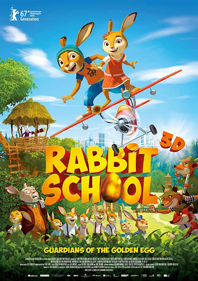 Rabbit School: Guardians of the Golden Egg Large Poster