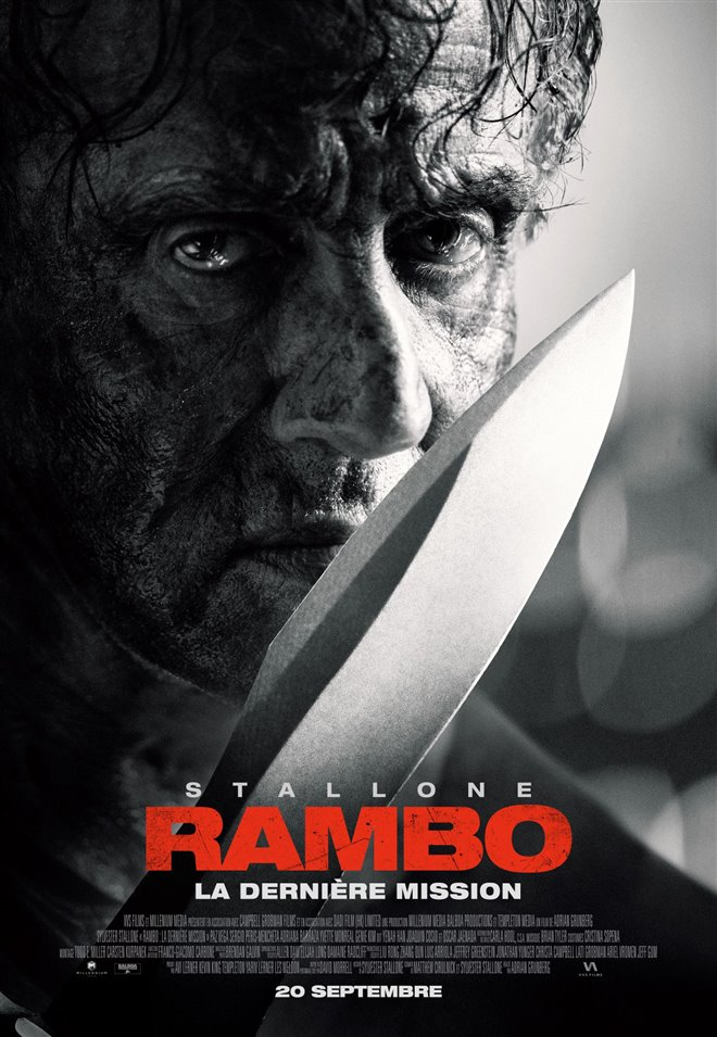 Rambo : La dernière mission Large Poster