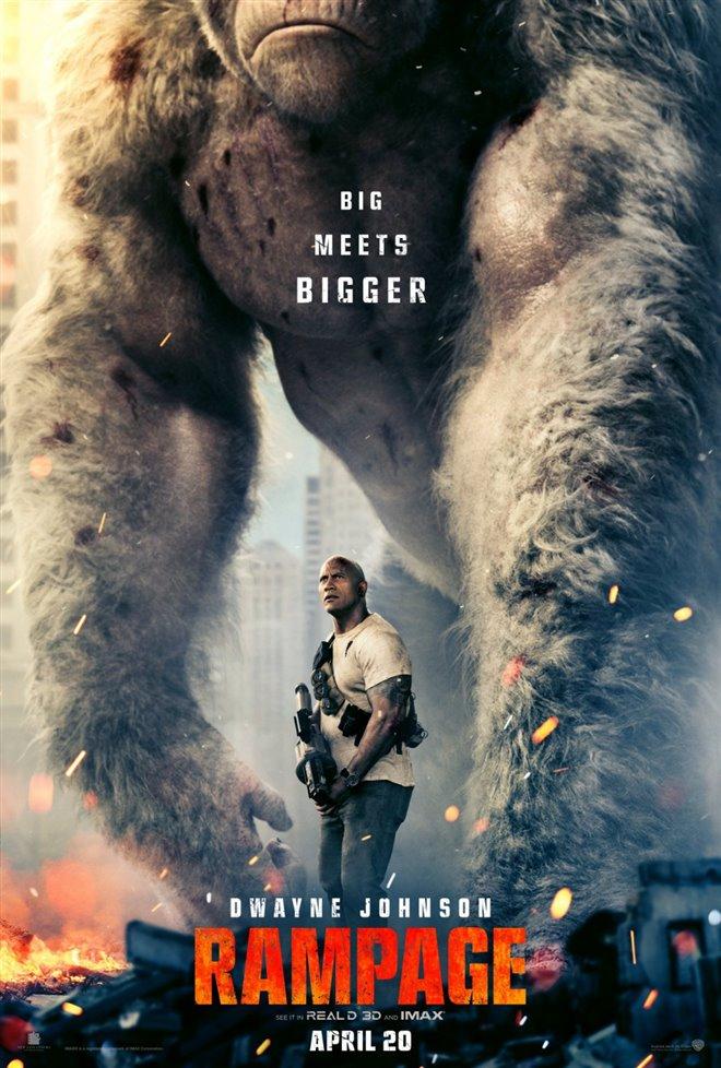 Rampage Large Poster
