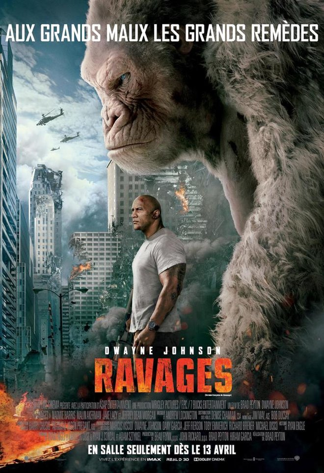 Ravages Large Poster