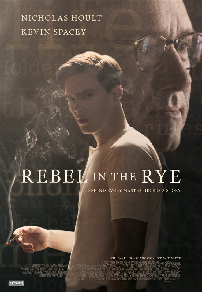 Rebel in the Rye Large Poster