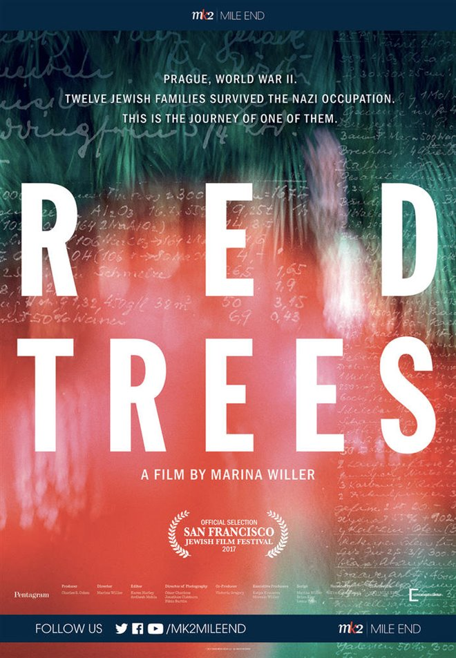 Red Trees (v.o.a.) Large Poster