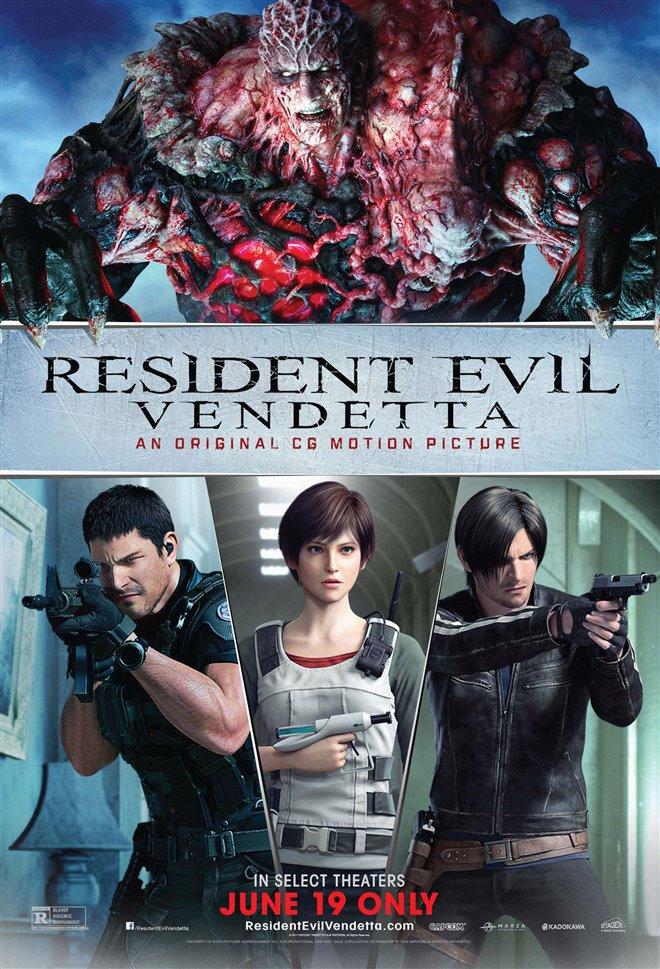Resident Evil: Vendetta Large Poster