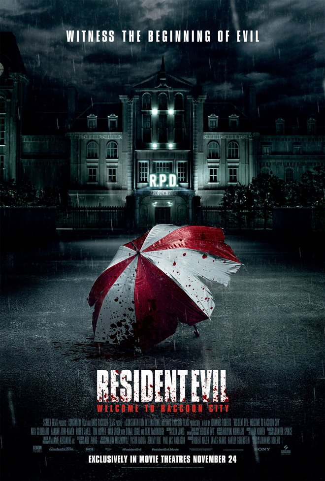 Resident Evil: Welcome to Raccoon City Poster