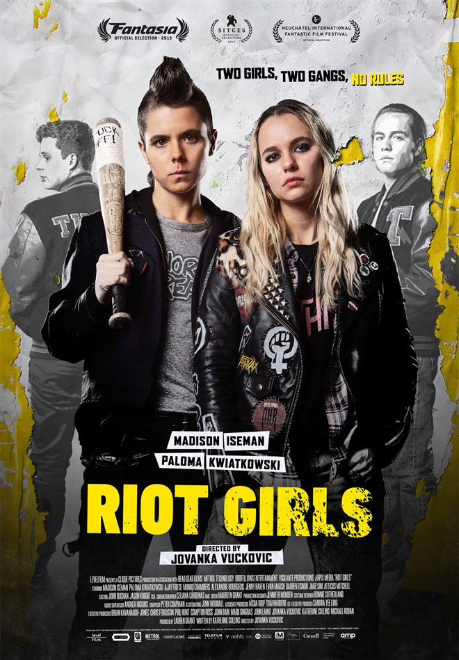 Riot Girls Large Poster
