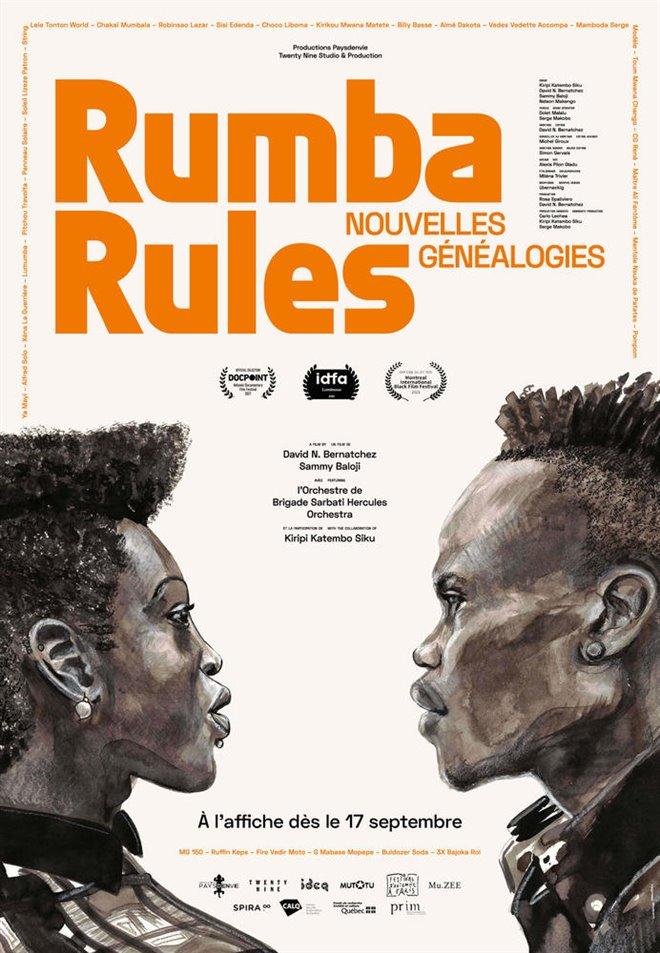 Rumba Rules, New Genealogies Large Poster
