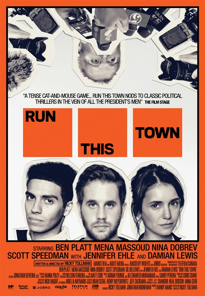 Run This Town Large Poster
