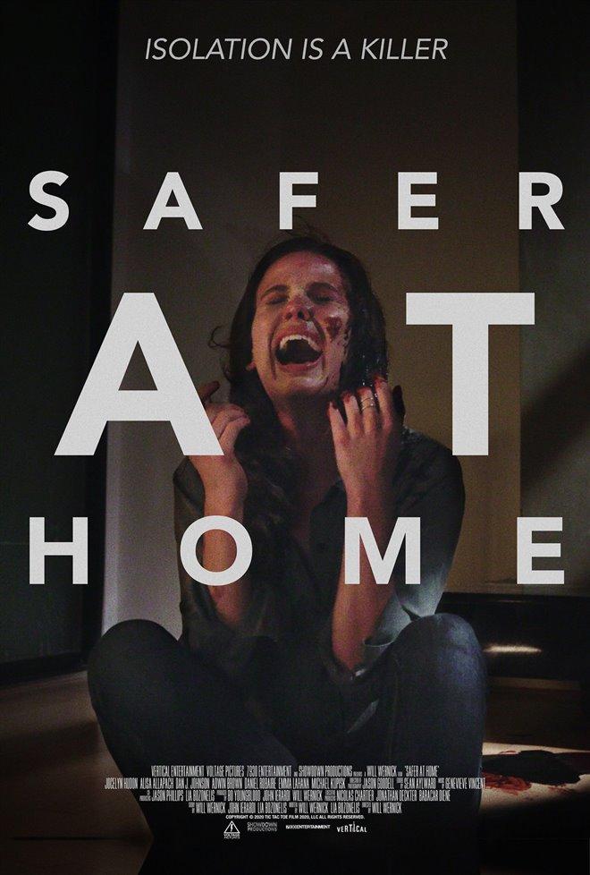 Safer at Home Large Poster