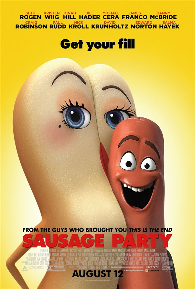 Sausage Party Large Poster