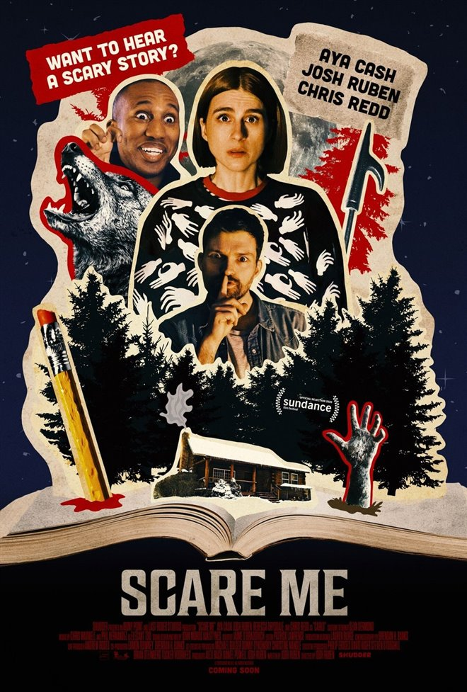 Scare Me Large Poster