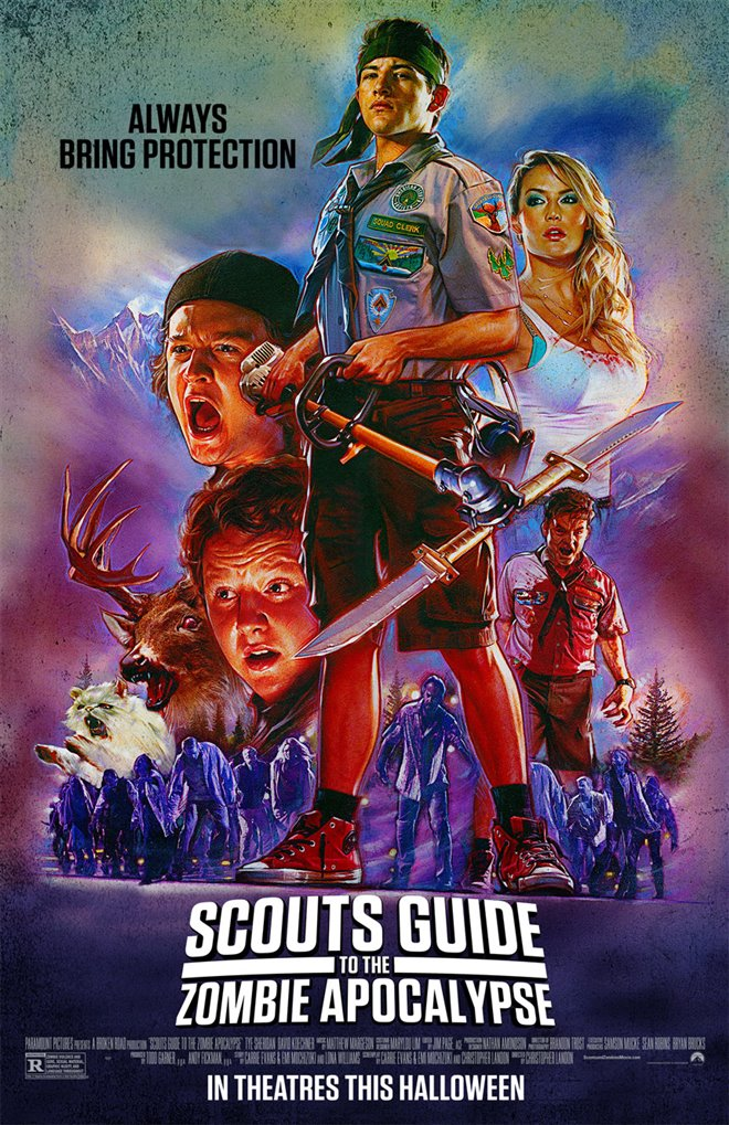 Scouts Guide to the Zombie Apocalypse Large Poster