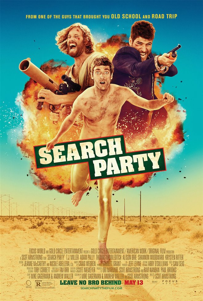 Search Party Large Poster