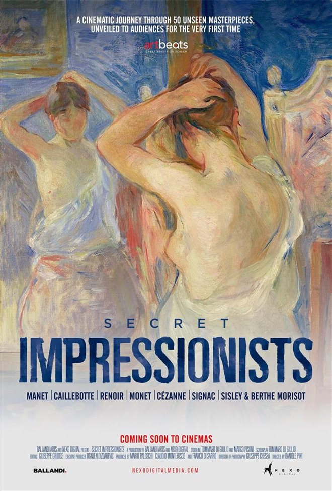 Secret Impressionists Poster