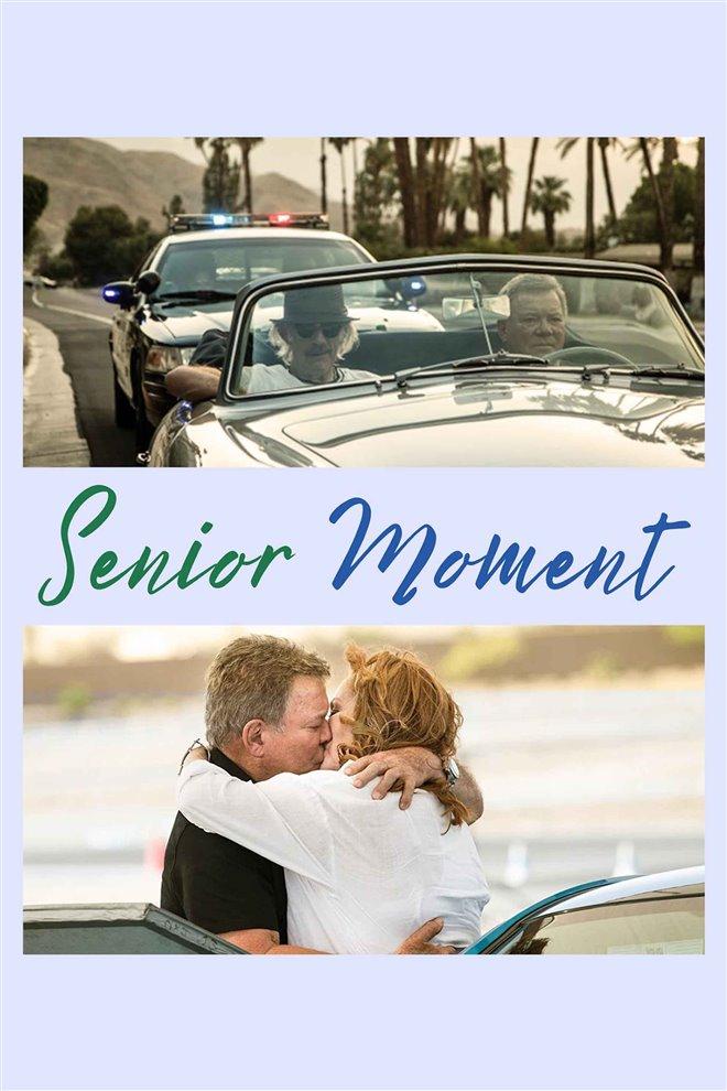 Senior Moment Large Poster
