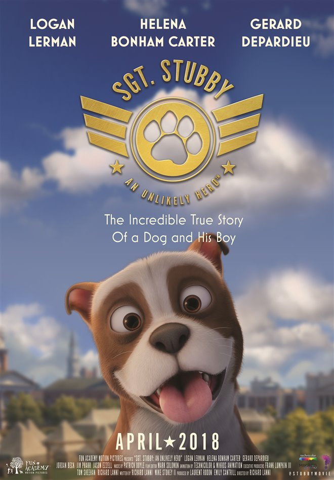 Sgt. Stubby: An Unlikely Hero Large Poster