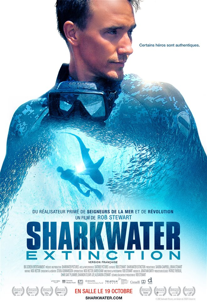 Sharkwater Extinction - Le film Large Poster