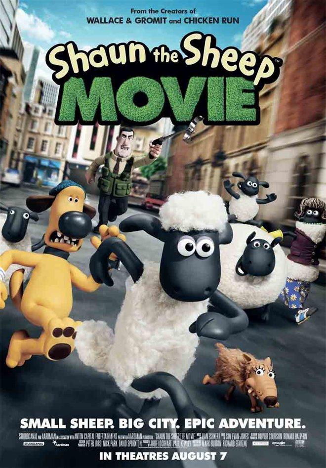 Shaun the Sheep Movie Large Poster