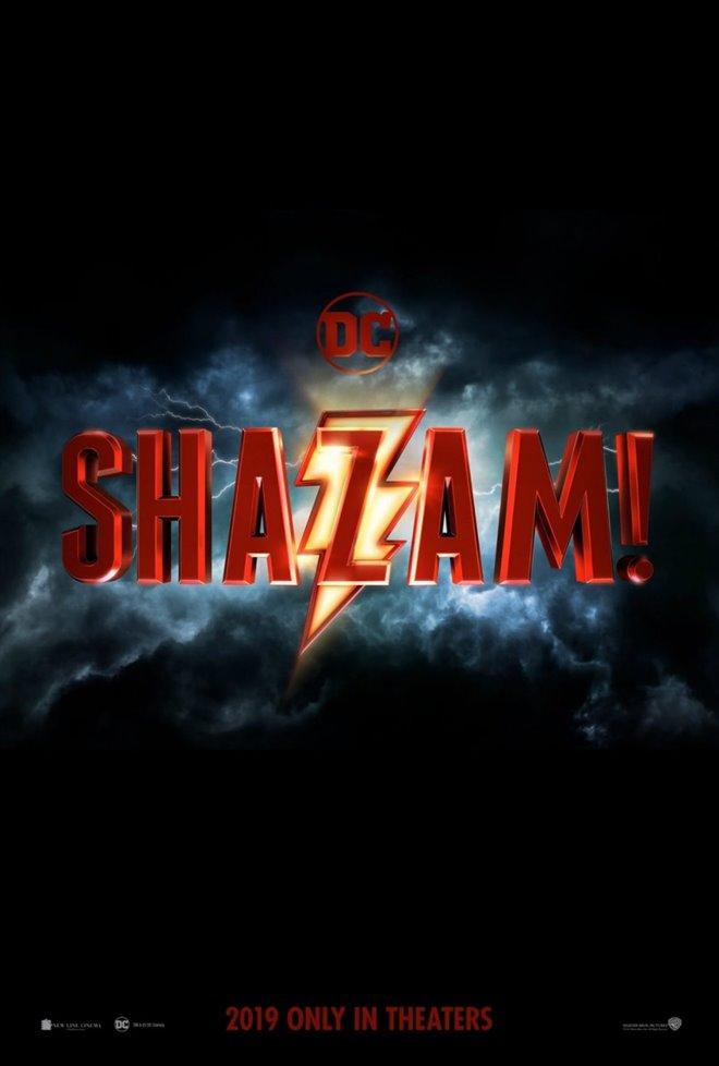 Shazam! Large Poster