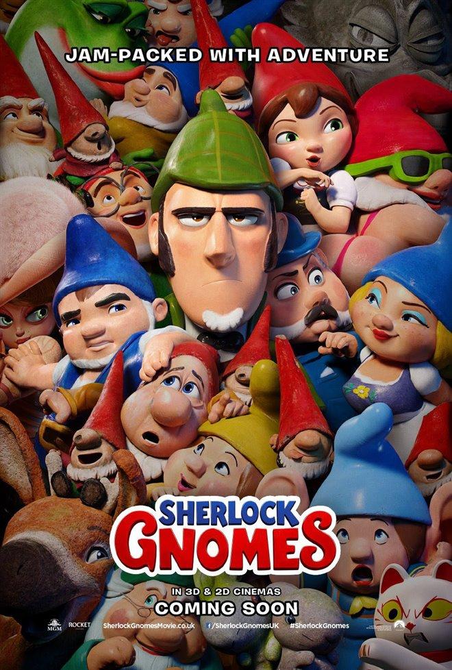 Sherlock Gnomes Large Poster