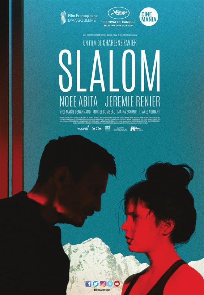Slalom Large Poster