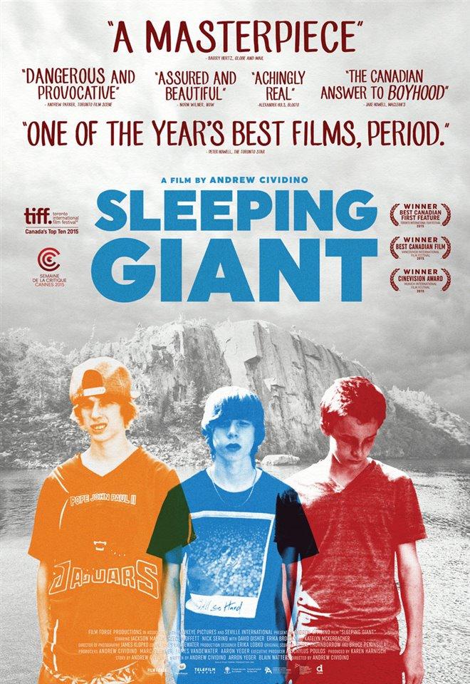Sleeping Giant Large Poster
