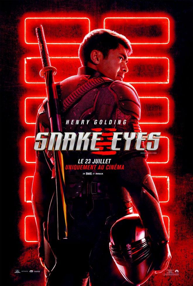 Snake Eyes Large Poster