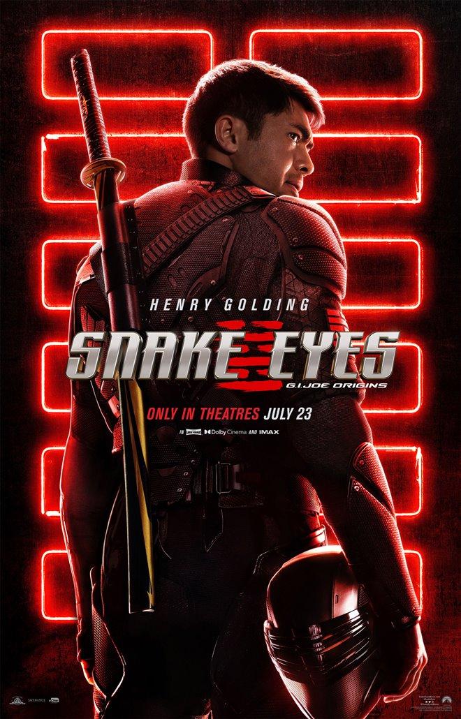Snake Eyes: G.I. Joe Origins Large Poster