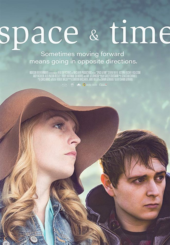 Space & Time Large Poster