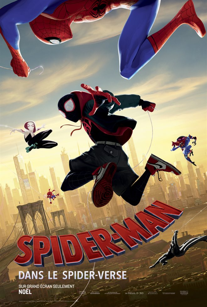 Spider-Man : Dans le Spider-Verse Large Poster