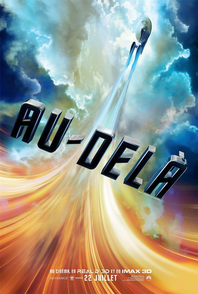 Star Trek au-delà Large Poster