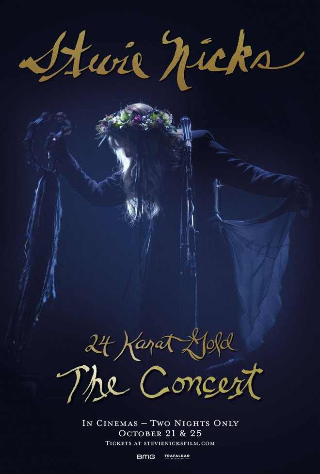 Stevie Nicks 24 Karat Gold The Concert Poster
