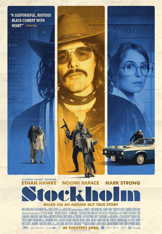 Stockholm (v.o.a.) Large Poster