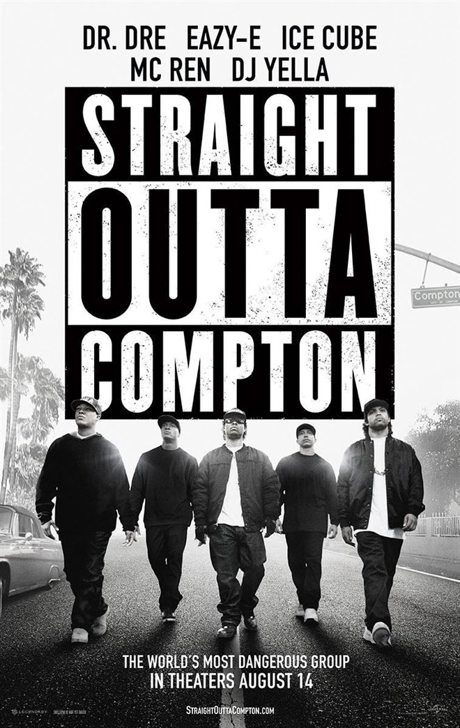 Straight Outta Compton Large Poster