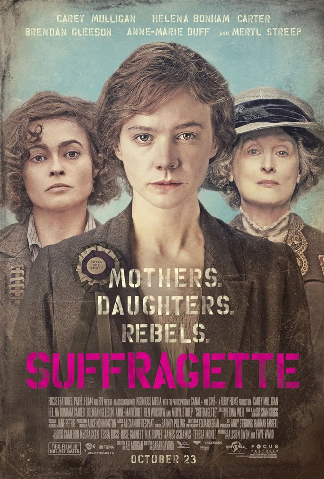 Suffragette Large Poster