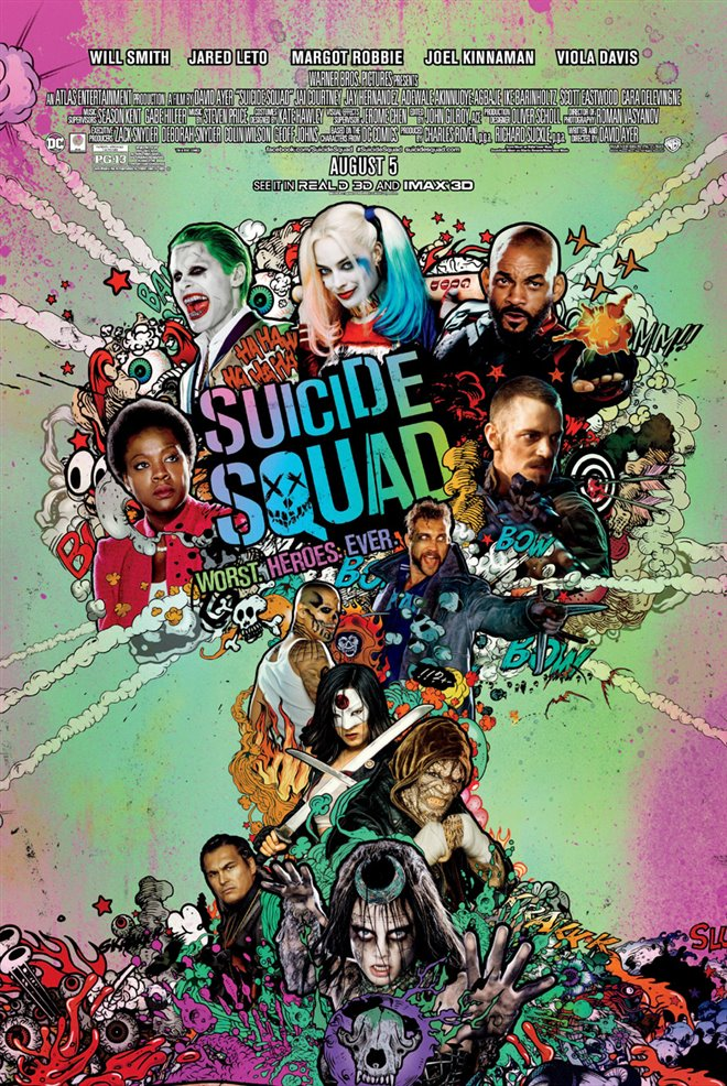 Suicide Squad Large Poster