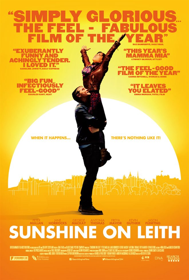 Sunshine on Leith Large Poster