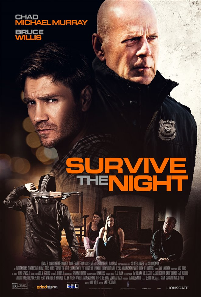 Survive the Night Large Poster